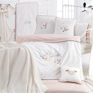 Детское постельное белье в кроватку для младенцев Irya — Sleep (16 предметов) 100×150