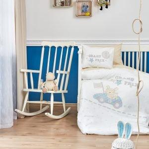 Детское постельное белье в кроватку для младенцев Karaca Home — Champion 2019-2 (10 предметов) 100×150