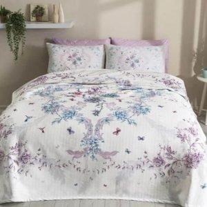 Летнее постельное белье с Пике ТМ TAC Beatrice Lilac 200×230