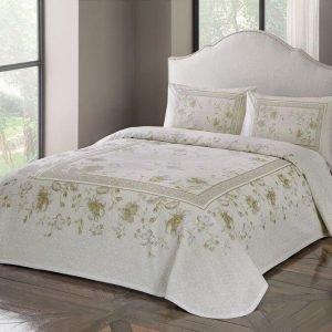 Летнее постельное белье с Пике ТМ TAC Glory Creme 200×230