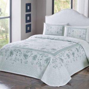 Летнее постельное белье с Пике ТМ TAC Glory Mint 200×230
