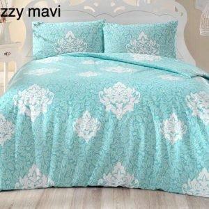 Постельное белье ТМ Altinbasak Bello Snazzy mint 160×220 (2 шт)