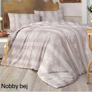 Постельное белье ТМ Altinbasak Nobby kahve 2 200×220