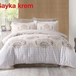 Постельное белье ТМ Altinbasak Sayka Krem Сатин 200×220