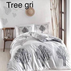 Постельное белье ТМ Altinbasak Tree gri 200×220
