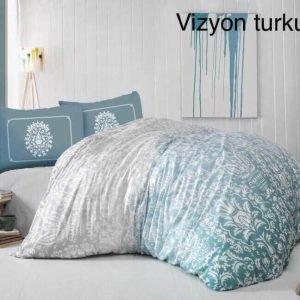 Постельное белье ТМ Altinbasak Vizyon turkuaz 200×220