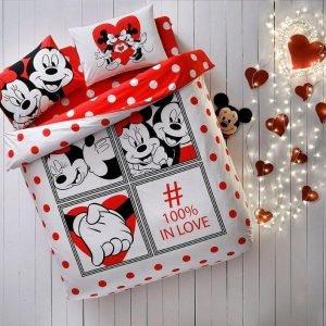 купить Постельное белье ТМ TAC Disney M&M Dotty Двуспальное|Евро комплект