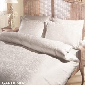 Постельное белье ТМ TAC Gardenia Tas Сатин Жаккард 200×220