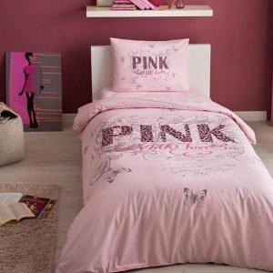 купить Постельное белье ТМ TAC Pink Двуспальное|Евро комплект