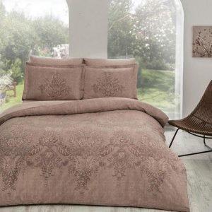 Постельное белье ТМ TAC Romaine Brown Сатин Delux 200×220