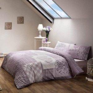 Постельное белье ТМ TAC Romance Lilac Сатин 200×220