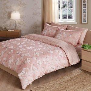 Постельное белье ТМ TAC Shadow Pink Сатин Delux