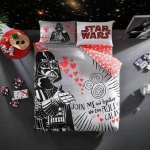 купить Постельное белье ТМ TAC Star Wars Valentin Двуспальное|Евро комплект