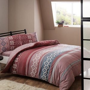 Постельное белье ТМ TAC Sweety pink Фланель 160×220
