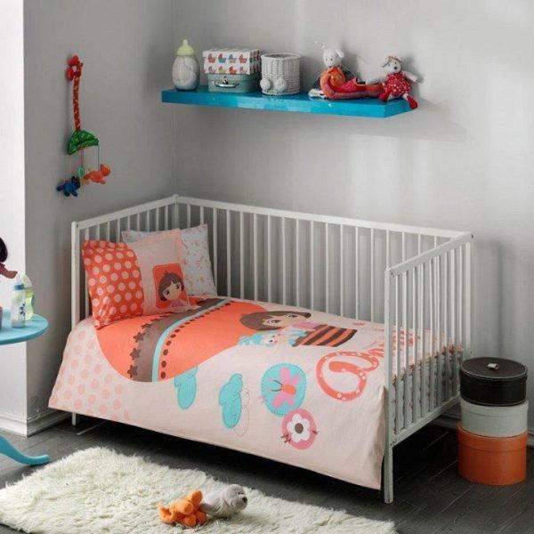 купить Постельное белье для новорожденных ТМ TAC Dora Baby Детское