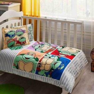 Постельное белье для новорожденных ТМ TAC Ninja Turtles Baby 100×150