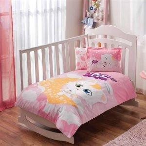 Постельное белье для новорожденных ТМ TAC Pisi Baby 100×150