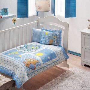 Постельное белье для новорожденных ТМ TAC Tom and Jerry Baby Blue 100×150