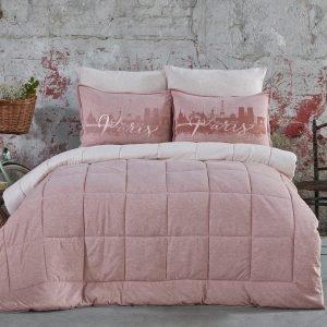 Постельное белье с одеялом Karaca Home – Paris pudra 2019-2 200×220