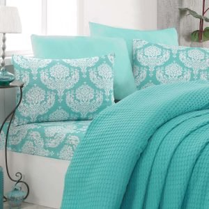 Постельное белье Eponj Home Paint Pike — Summer mint 200×235