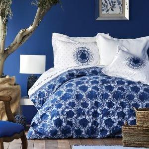 купить Постельное белье Karaca Home ранфорс - Belina mavi 2019-2