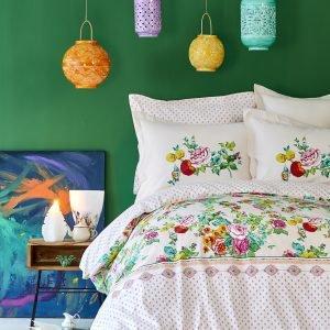 Постельное белье Karaca Home ранфорс — Irini fusya 2019-2 200×220