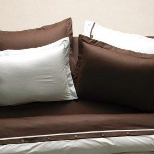 Постельное белье Karaca Home ранфорс — Solid кофе 160×220