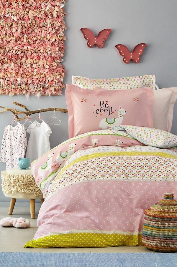 Постельное белье Karaca Home – Arlina pembe 2019-2 ранфорс 160×220