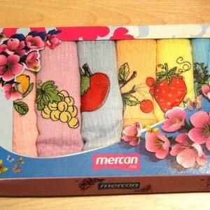 купить Вафельное полотенце кухонное 6шт Mercan ягодки