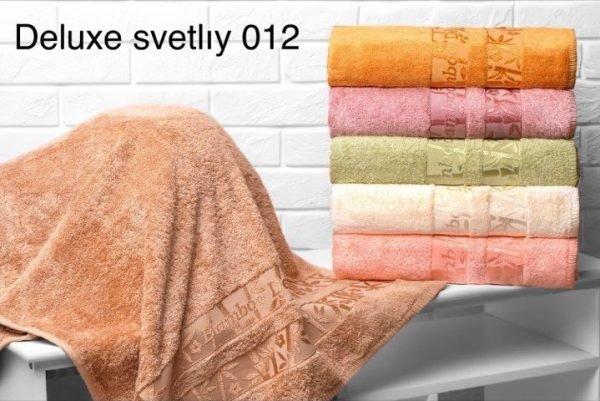 купить Набор из 6-ти махровых полотенец ТМ Hanibaba бамбук лайт deluxe svetliy