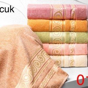 Набор из 6-ти махровых полотенец ТМ Hanibaba хлопок boncuk