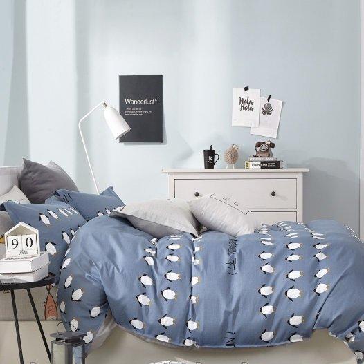 купить Постельное белье ТМ Bella Villa Сатин B-0169 Двуспальное|Евро комплект