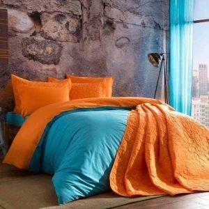 Постельное белье ТМ TAC Colorful Turqoise Ранфорс 200×220
