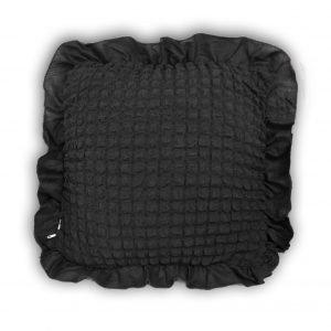 купить Декоративная подушка Love You антрацит Черный|Серый фото