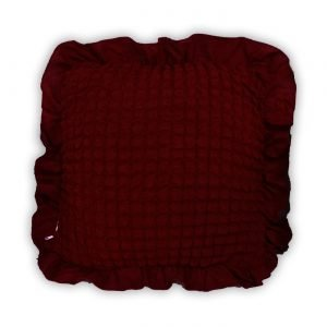 купить Декоративная подушка Love You вишня Бордовый фото