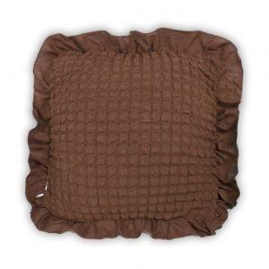 купить Декоративная подушка Love You какао Коричневый фото