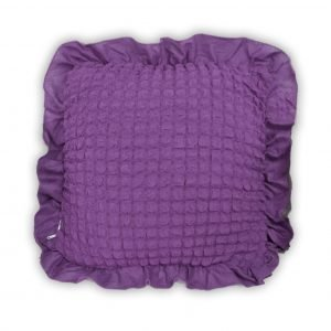 Декоративная подушка Love You лиловый 45×45