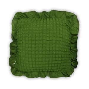 купить Декоративная подушка Love You олива Зеленый фото