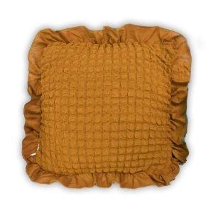купить Декоративная подушка Love You песок Бежевый фото