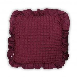 купить Декоративная подушка Love You пурпурный Бордовый фото