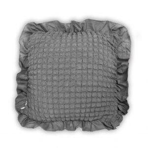 Декоративная подушка Love You серый 45×45
