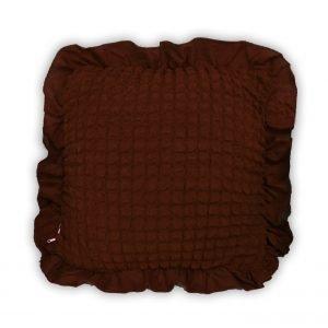 Декоративная подушка Love You черный шоколад 45×45