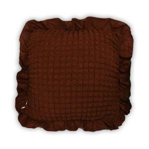 Декоративная подушка Love You шоколад 45×45