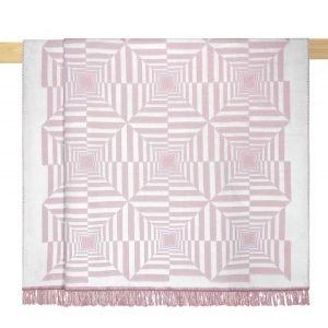 купить Плед Arya Хлопковый Рельефный Nyla Pink Розовый фото