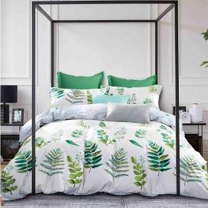 купить Постельное белье Love You сатин tl 180367 Зеленый|Серый фото