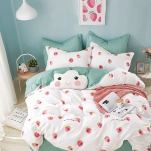 купить Постельное белье Love You сатин tl 181681 Бирюзовый|Розовый фото