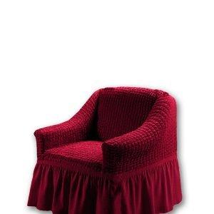 Чехол на кресло Love you пурпурный