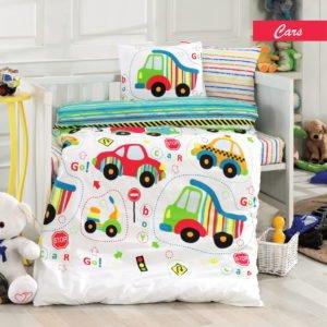 Детское постельное белье Class Cars 100×150