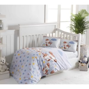 купить Детское постельное белье Class Puppy v1 Голубой фото
