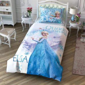 Детское постельное белье TAC Frozen Cek Ранфорс 160×220